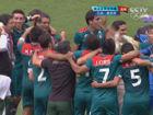 视频集锦-男足决赛墨西哥爆冷 2-1巴西夺首金