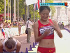 视频-俄罗斯20km竞走金银牌 中国藏族姑娘摘铜
