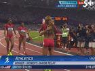 视频-女4x400接力美夺冠 俄罗斯牙买加列二三