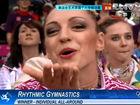 视频-艺术体操个人全能决赛 俄罗斯卡纳耶娃摘金
