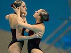 视频-女子花样游泳水下绝美灵动瞬间