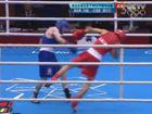 视频-男子拳击半决赛 巴恩斯恶意推倒邹市明