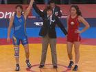 视频-奥运女子自由式摔跤铜牌 西班牙胜白俄罗斯