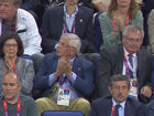 视频-斯特恩现场观战 美国领先比赛失去悬念