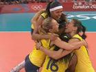 视频-奥运会女排决赛 巴西女排连扳三局逆转美国