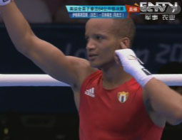 视频-奥运男子拳击64公斤决赛 古巴索托隆戈摘金