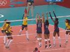 视频录播-奥运女子排球决赛 巴西VS美国第一节