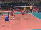 视频集锦-奥运男排决赛 俄罗斯3-2逆转巴西夺金