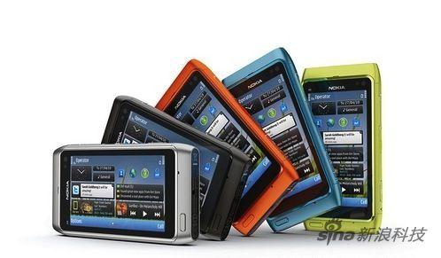 首款Symbian^3系统的手机N8