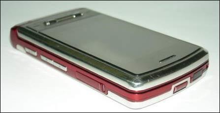 更加闪耀LG发布超薄滑盖红色版KG70