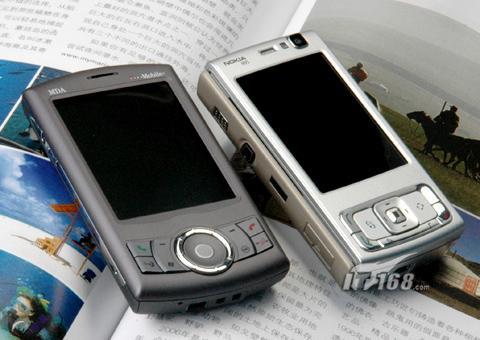 双雄争霸诺基亚N95与多普达P800对比