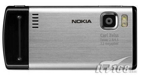 金属滑盖诺基亚6500s即将8月发售