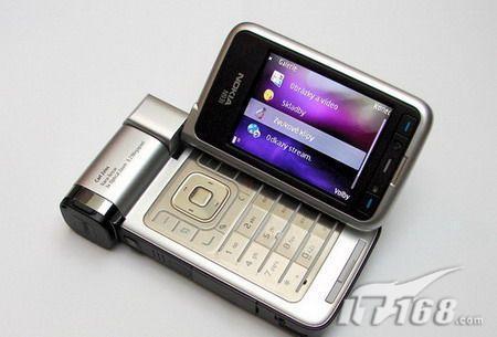 手机也疯狂 诺基亚N93i变形金刚版现身