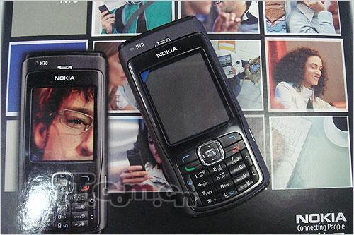 经典时尚诺基亚智能N70行货仅售2460