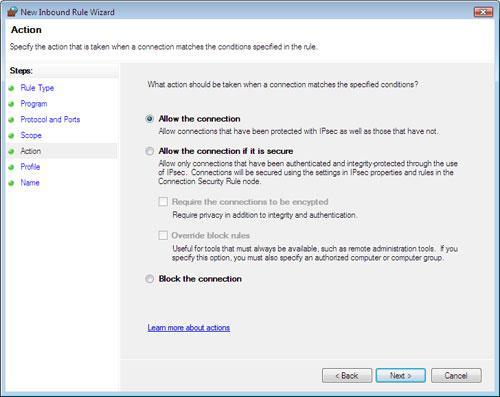 WindowsVista防火墙安全攻略(下)(2)