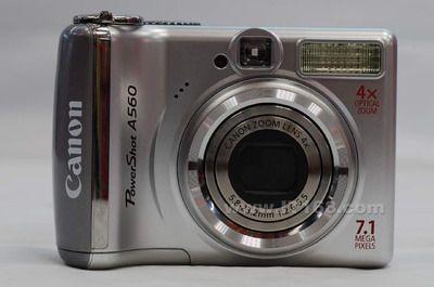 低端入门级相机佳能A560国庆促销出炉