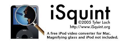 视频转换好帮手iSquint搞定苹果MP4