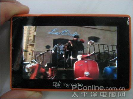 炫彩的卡片玛雅MyMediaCard超薄MP4到