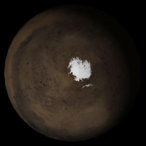 科技时代_美科学家公布火星冰层高清晰照片(图)