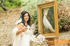 美画家拥有罕见4色视觉:可见颜色为常人百倍