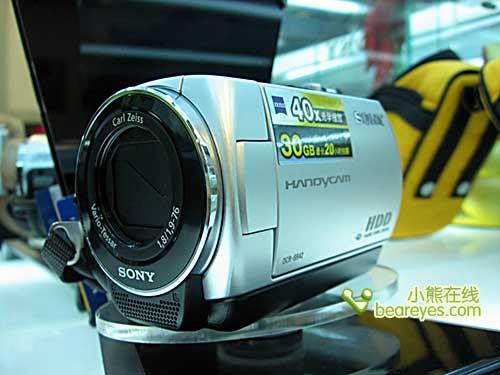 最值硬盘式摄像机索尼SR42E降破4000元