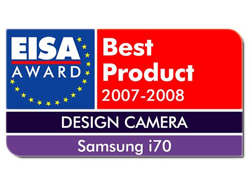 三星蓝调i70相机获EISA欧洲设计大奖