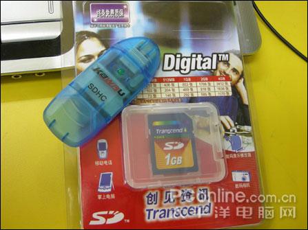 100元还送读卡器1GB晟碟SD卡杀底