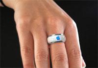 概念型iRing无线控制iPod 如同戒指