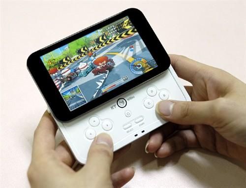 4��WVGA屏幕iRiver推出新款游戏MP3