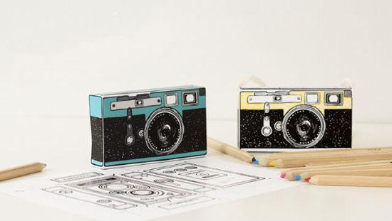 Caravan涂鸦相机纸模 每组各4款售价10美元