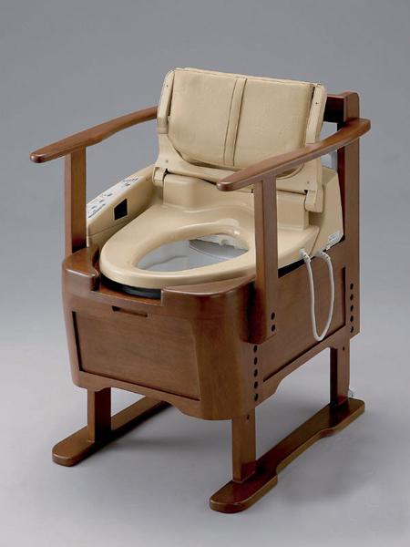 马桶随身扛 日本发布便携式温水坐便器
