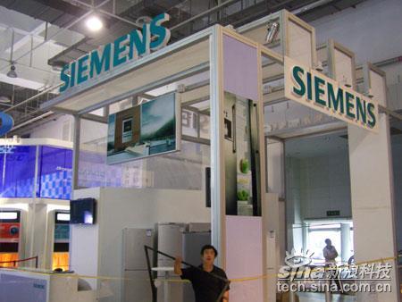 科技时代_SINOCES2007:西门子公司布展情况