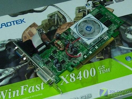 用得起的DX10显卡丽台8400GS平价上市