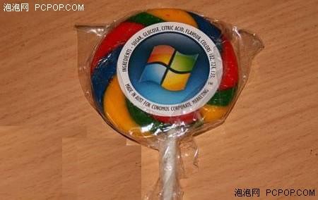 你吃了没有!买Windows送Vista棒棒糖