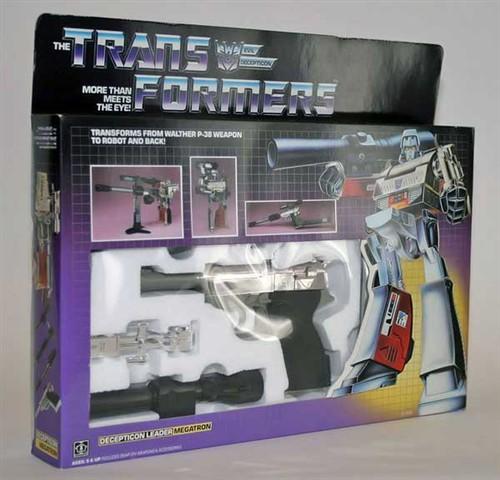 标价百万美元275件变形金刚玩具出售