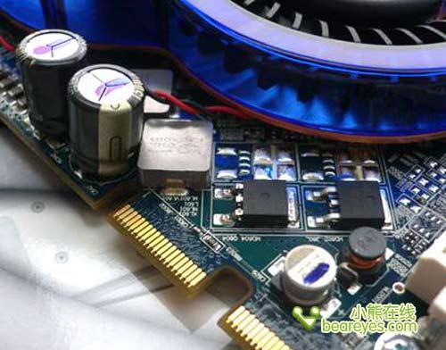 暴爽到底蓝宝纯铜热管X1650GT破600