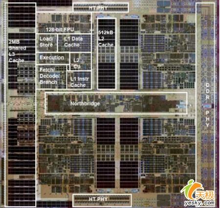 绝地反击AMD原生四核Barcelona性能实测