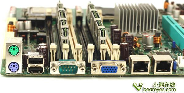 8核至强服务企业 华硕5000V主板首测_硬件