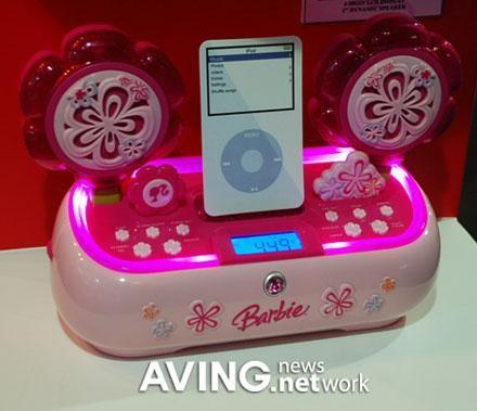 超级可爱 芭比娃娃 iPod音箱发布