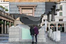 英建筑师打造云端建筑:似拦腰斩断飘在空中