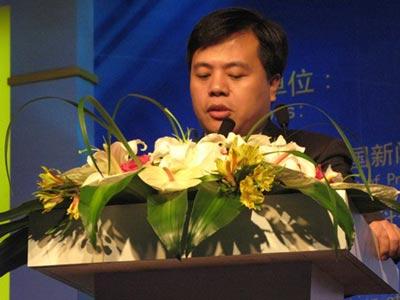 科技时代_图文:盛大董事长陈天桥ChinaJoy演讲