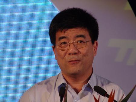 图文:北京大学经济研究中心副主任海闻演讲