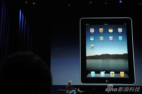 图文:苹果平板电脑ipad桌面