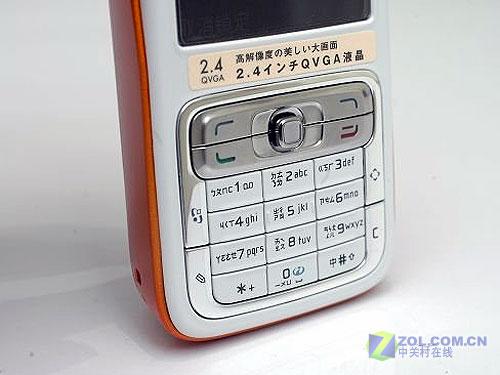 320万像素诺基亚智能N73橙黄色曝光