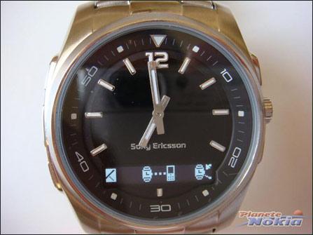 索爱蓝牙手表与手机配对中-索尼爱立信蓝牙手表MBW 150实物曝光 值