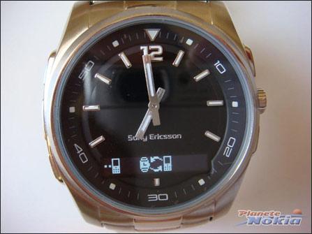 蓝牙手表与手机数据交换中-索尼爱立信蓝牙手表MBW 150实物曝光 值