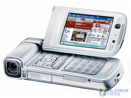 拍照王者诺基亚DV式N93行货仅3880元