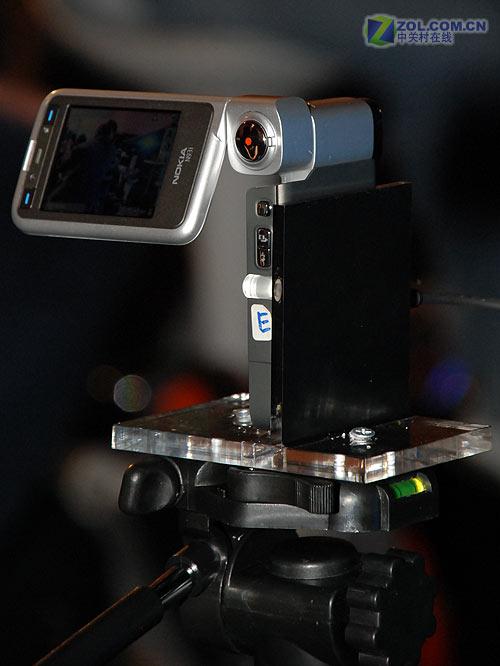诺基亚N93i拍的首部手机电影和MTV亮相