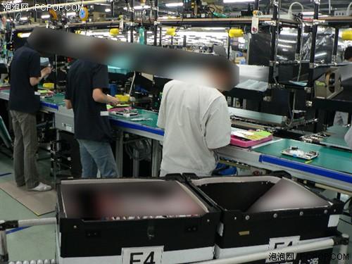 日本也有生产线探秘富士通笔记本厂