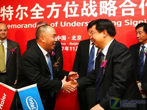 英特尔海尔CEO会面两大领域携手创新